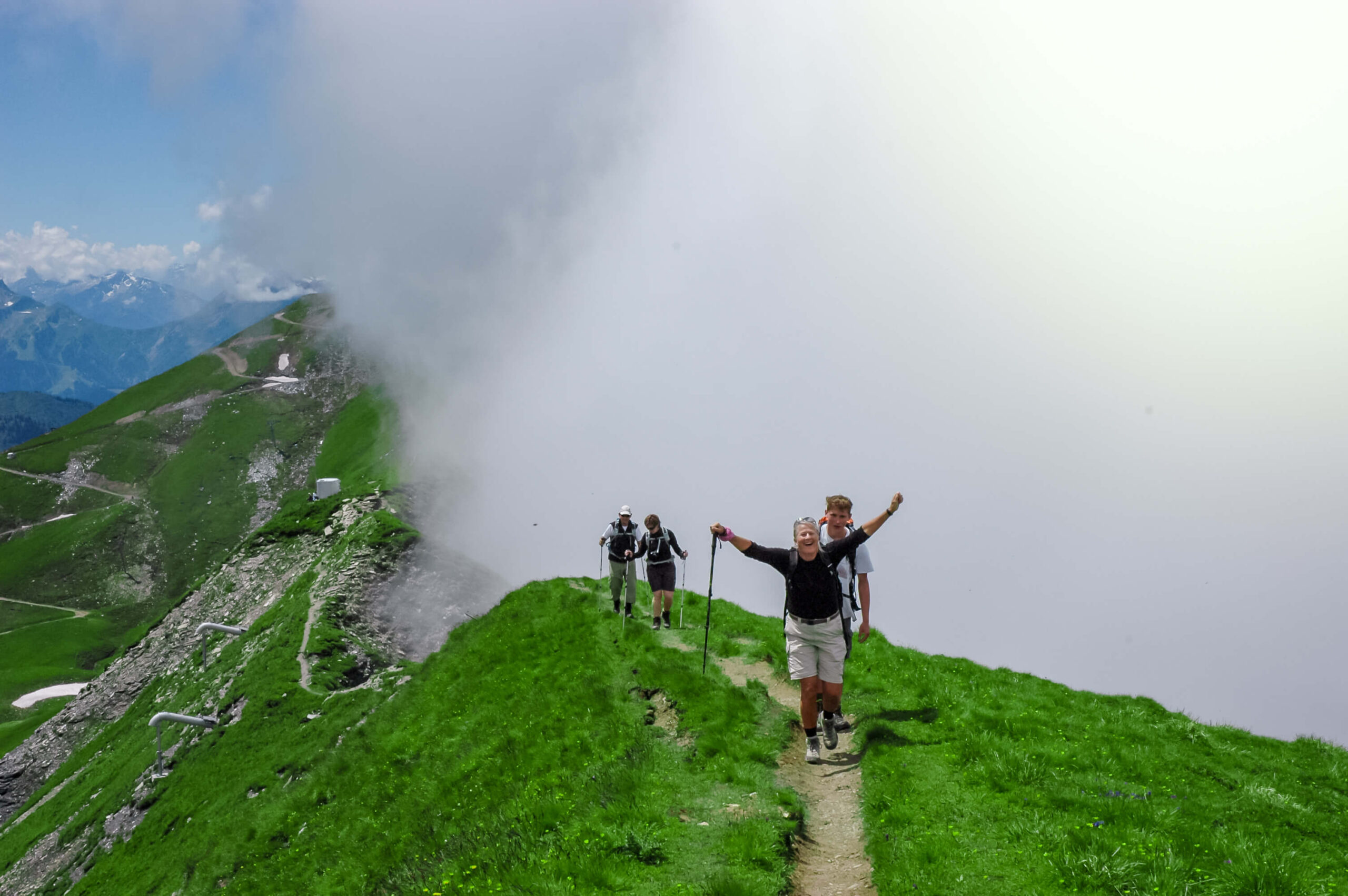 Vandring rundt om Mont Blanc