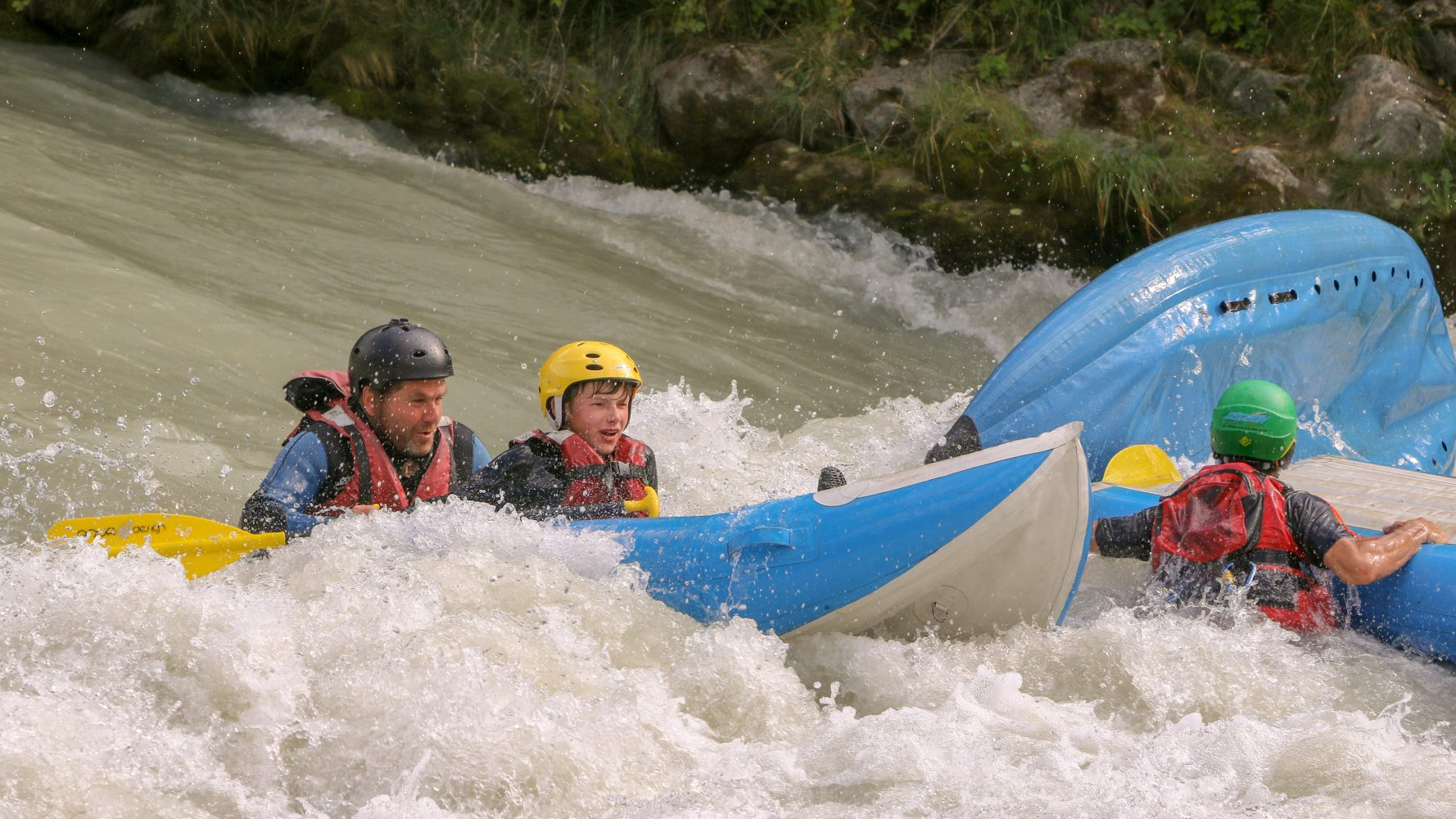 Rafting vandsport med spænding