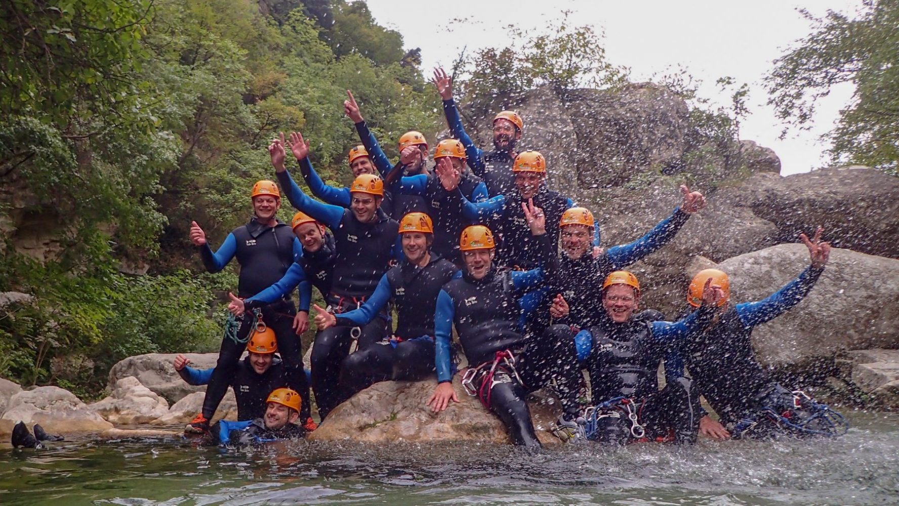 Vandsport i Alperne